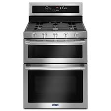 gas range. True Convection Dual Oven Gas Range In Stainless