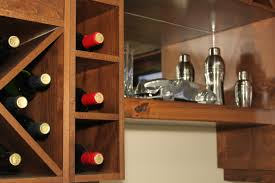 Built In Wine Racks Kitchen Kitchen Cabinets With Wine Rack