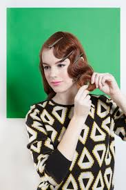Pin Curl Hair Style how to vintage glam wave 5330 by stevesalt.us