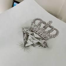 Diamond Queen More тату татуировка корона крутые татуировки и