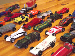 pinewood derby race cars pinewood derby car race owbc blog