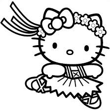 Small Picture Hello Kitty Face Coloring Pages GetColoringPagescom