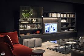 tastefully space savvy living room tv units that wow extraordinary stand ideas for small over fireplace