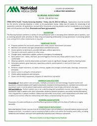 Cna Resume Sample For New Graduate Cna Entry Level Cna Resume Abcom 6