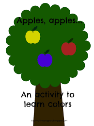 Apple Color Chant And Free Printable For Toddler And Preschoolers