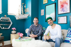 colorful home office. the task at hand was taking joeyu0027s home office from an unfurnished discombobulated mess to a collected colorful and playful productive space o