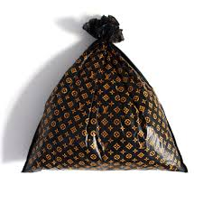 Louis Vuitton Trash Bag in Use with Contents