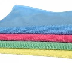 Image result for microfiber cloth blue yellow green 7
