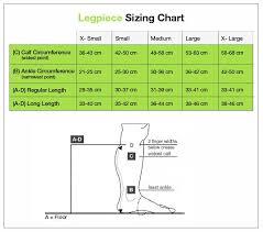 Calf Size Chart Farrowwrap Basic Legpiece