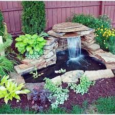 45 special diy garden pond waterfall