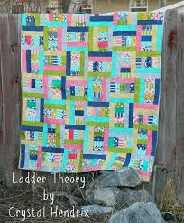 116 best Crafty - Quilt Jellyroll images on Pinterest | Appliques ... & Ladder Theory Quilt Tutorial - jelly roll Adamdwight.com
