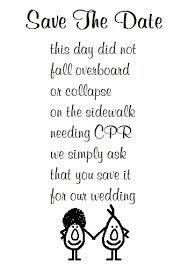 Save The Date A Funny Poem Free Announcement Ecards