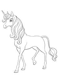 30 Disegni Di Mia And Me Da Colorare Horse Coloring Pages