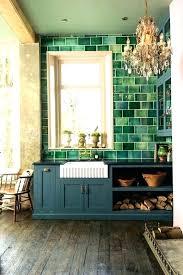 green backsplash tile green tile mosaic white kitchen subway green subway tile green backsplash tile blue kitchen