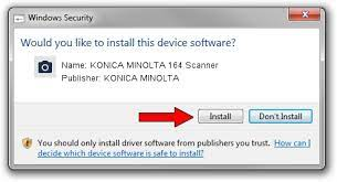 Driver fixed for wsd installation will be published between dec/2018 and mar/2019. Download And Install Konica Minolta Konica Minolta 164 Scanner Driver Id 1248711