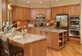 Kitchens With Laminate Flooring Contemporary Kitchen Design Ideas With Wooden Cabinets And Simple