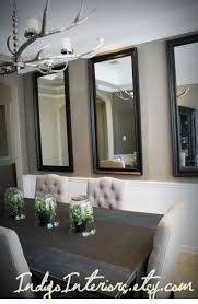 Large Dining Room Mirrors Mirror Hanging The O39jays And Dining Rooms On Pinterest