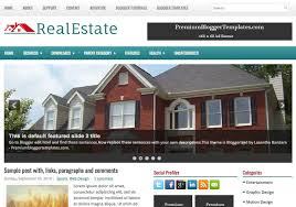 real state template realestate blogger template blogspot templates 2019