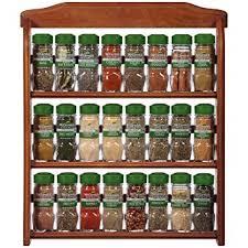 Organic Spice Rack New Amazon McCormick Gourmet Organic Wood Spice Rack 32 Herbs