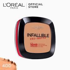 infallible pro matte pressed powder 400 true beige neverfail 16hr longwear