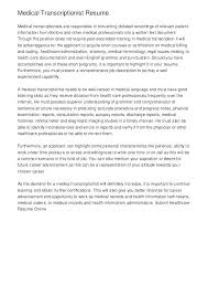 Examples Of Healthcare Resumes Medical Resume Samples Medical