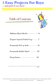 table of contents for kids photo 1