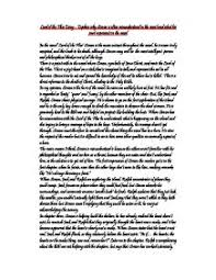 lord of the flies essay explain why simon is often misunderstood  page 1 zoom in