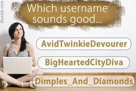 best dating site usernames