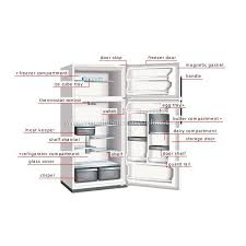 refrigerator inside parts. external visible parts of household refrigerator inside bright hub engineering