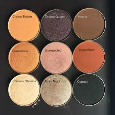 starter kit eyeshadow colors from l r are makeup geek vegas lights eyeshadow palette the of this bundle is us 49 00 if you re ing these pans