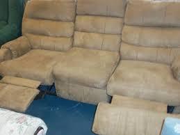 beige reclining sofa. Modren Reclining Reclining Sofa Couch Beige Microfiber And