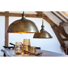 industrial style pendant lighting. Industrial Style Dome Pendant Light In Brass Finish, 27.5w X 23, $499, Destination Lighting