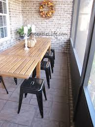 ... Modern Ideas Narrow Outdoor Dining Table Neoteric Design Long Narrow  Outdoor Dining Table 9HWR ...