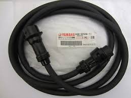 yamaha new oem main engine 7 pin wire wiring harness extension 688 image is loading yamaha new oem main engine 7 pin wire