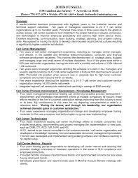 Sample Resume For Call Center Supervisor Position New Call Center