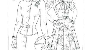 Barbie Fashion Coloring Pages Free Fashion Coloring Pages Fashion