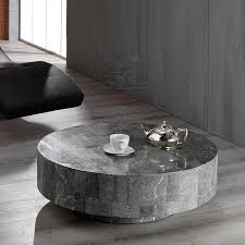 rondo round sculptured coffee table by stones in stone inspirations 7