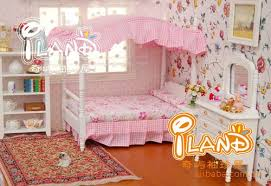 princess bedroom furniture. 112 miniature doll house set wooden furniture accessories mini pink princess bedroom bed 2 cabinet dollhouse toy boy 18in