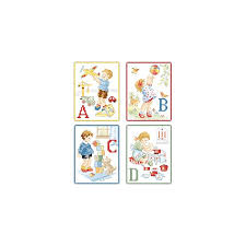 My Alphabet Chart My First Abc A Big Alphabet Chart Les Brodeuses