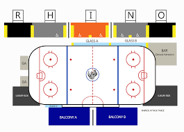 El Paso Coliseum Seating Chart Elpasorhinos Com Seating Chart