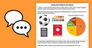 Pie Chart Problems Year 6 Statistics Year 6 Read And Interpret Pie Charts Discussion