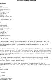 Job Proposal Letter Template New Position Proposal Template Job
