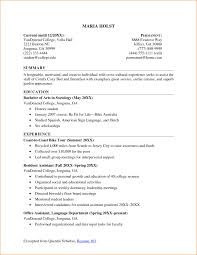 How To Write A Resume With Little Experience 24 College Student Resume Examples Little Experience Basic Job How To 8