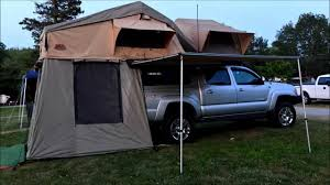Front runner roof top tent and Tuff stuff - YouTube