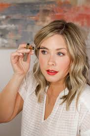 a bronzed glowing makeup look with sephora
