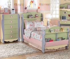 twin girls bedroom sets. Amusing Ashley Furniture Beds For Kids Bedroom Sets Green Blue Flower Books Twin Girls