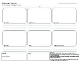 How To Plan A Story Template Short Story Planning Storyboard By Pax Teachers Pay Teachers