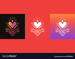 Valentines Invitations Greeting Cards Invitations For Valentines Day Vector Image