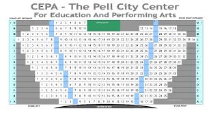 Theater Seating Chart Cepa
