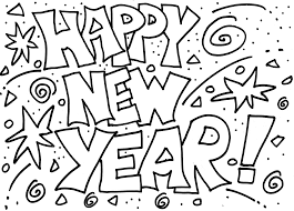 Small Picture New Years Coloring Pages Picture Archives gobel coloring page